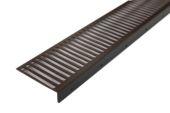 60mm x 15mm Cladding Vent Strip (brown)