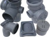 110mm Polypipe Pushfit Soil Range in Grey