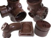 110mm Polypipe Pushfit Soil Range in Brown