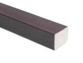 25mm x 20mm Rectangle (rosewood)
