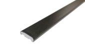 25mm x 6mm D Section (black woodgrain)
