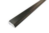 20mm x 6mm Edge Fillet (black woodgrain)