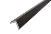 25mm x 25mm Foam Angle (black woodgrain)