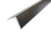 50mm x 50mm Foam Angle (black woodgrain)