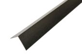 60mm x 60mm Angle (black woodgrain)