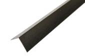 80mm x 80mm Angle (black woodgrain)