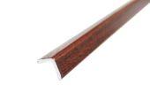 25mm x 25mm Foam Angle (mahogany)
