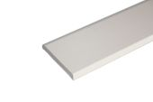 45mm x 6mm Flat Back Architrave (cream)
