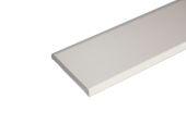 45mm x 6mm Flat Back Architrave (cream)