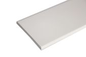 70mm x 6mm Flat Back Architrave (cream)