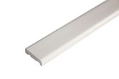 25mm x 6mm D Section (cream)
