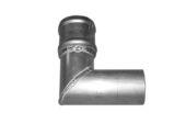 101mm x 92 Deg Single Bend (mill)