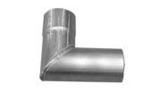 76mm x 92 Deg Single Swaged Bend (mill)
