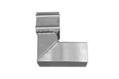 76mm Square x 92.5 Deg Single Bend (mill)