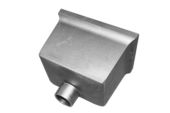 Standard Box Hopper - 63mm Spigot (mill)