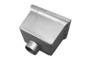 Standard Box Hopper - 76mm Spigot (mill)