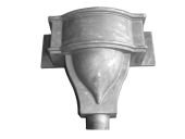 Castleford Large Bow Hopper - 76mm Spigot (mill)