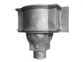 Castleford Small Bow Hopper - 76mm Spigot (mill)