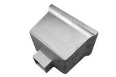 Standard Box Hopper - 76mm Sq Spigot (mill)