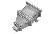 Erigmore Hopper - 101x76 Rect Spigot (mill)
