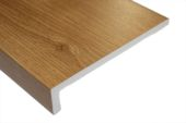 400mm Capping Fascia Board (irish oak)