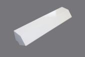 135 Deg x 300mm External Fascia Angle (white)