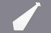 Bargeboard Finial (white)