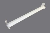 500mm Bullnose Internal Fascia Corner (white)