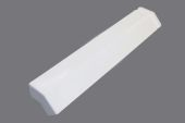 135 Deg x 410mm External Square/Ogee Fascia Angle (white)