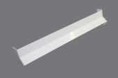 135 Deg x 410mm Internal Square/Ogee Fascia Angle (white)