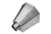 Standard Conical Hopper - 63mm Spigot (mill)