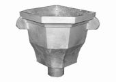 Bellvue Corner Hopper - 76mm Spigot (mill)