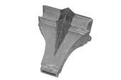 Trent Hopper - 101x76 Rect Spigot (mill)