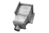 Selby Corner Hopper - 63mm Spigot (mill)