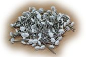 50mm Polynails (white)