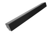 500mm External Fascia Corner (black ash)