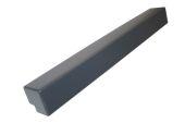 500mm External Fascia Corner (Anthracite Grey 7016 Woodgrain)