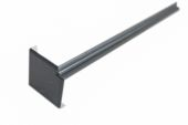 300mm Internal Fascia Corner (Anthracite Grey 7016 Woodgrain)
