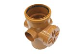 Access Pipe Single Socket With Three Boss Shoulder