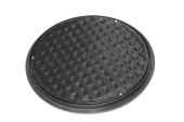 Circular Screw Down PVC Cover And Frame