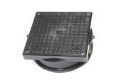 Square Screw Down PVC Cover And Frame