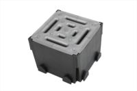 Four Way Junction Unit (black & silver)