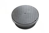 320mm Round Manhole Cover & Frame (amazon)