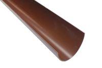 4 Metre Gutter Polyflow (brown)