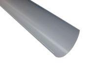 4 Metre Gutter Polyflow (grey)