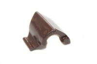 Single Terrain Gutter Clip (rustic  brown)