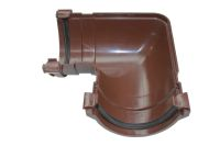 90 Degree Gutter Angle (rapid brown)