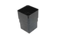 Pipe Connector Square ( black)