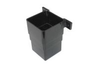 Square Flush Connector (black)