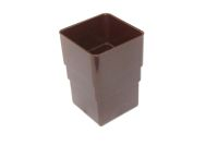 Pipe Connector Square (brown)